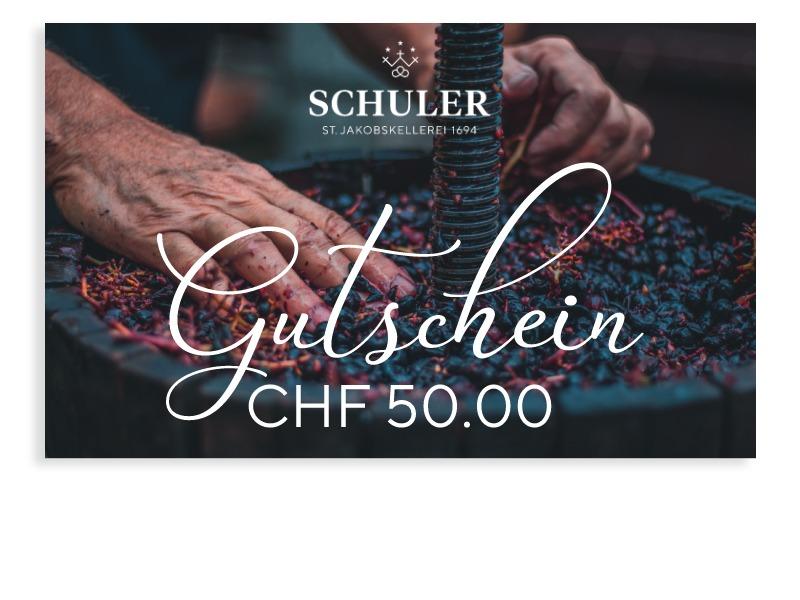 Geschenk-Gutschein CHF 50.00