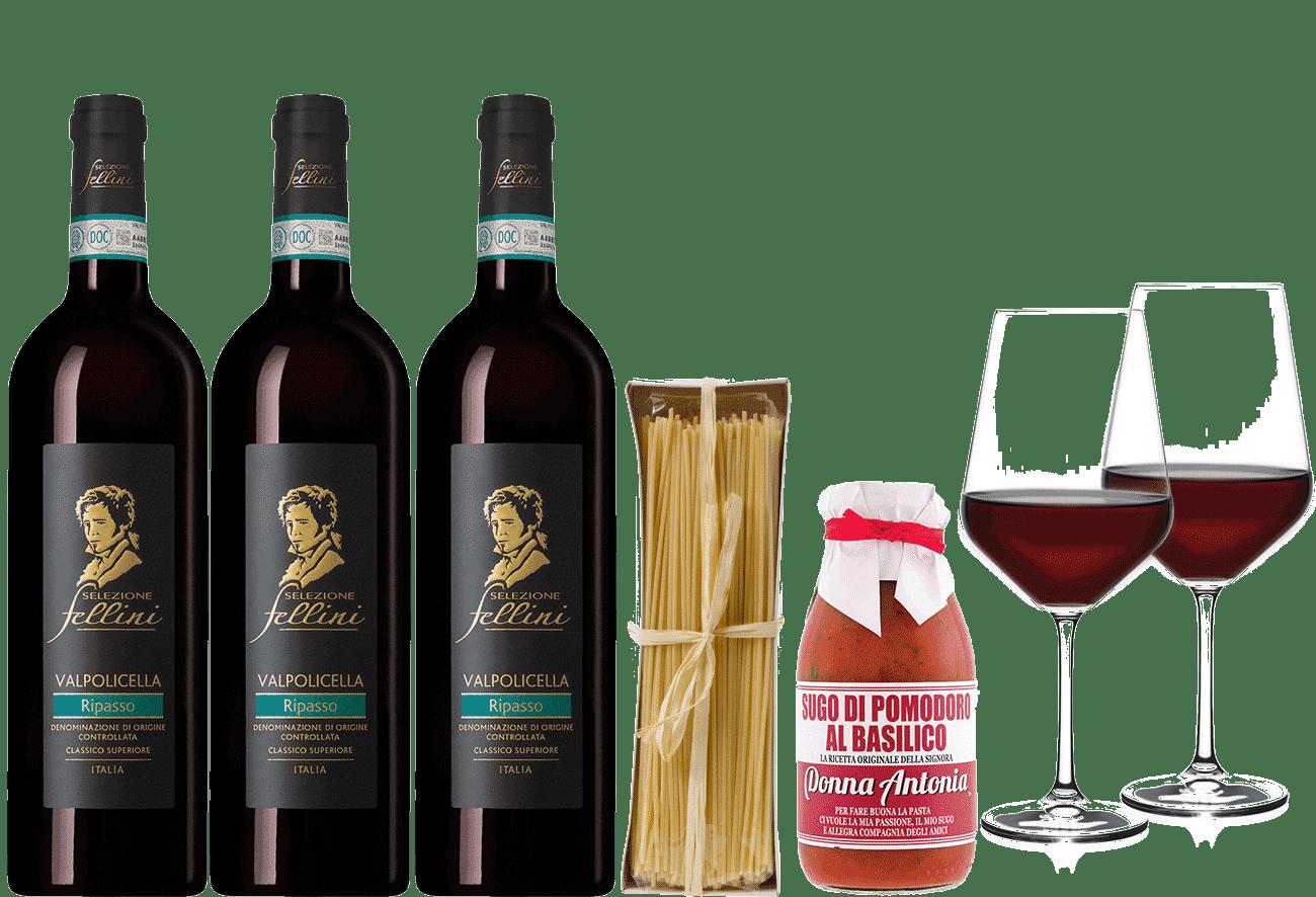 Wein-Dinner Paket