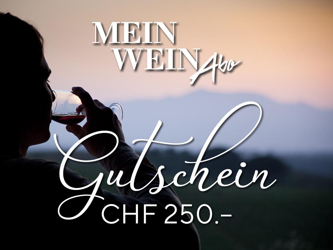 MeinWein-Abo Geschenkkarte CHF 250.–