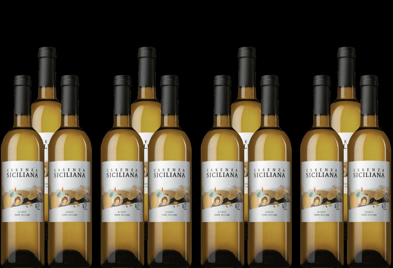 12er Paket Essenza Siciliana Bianco