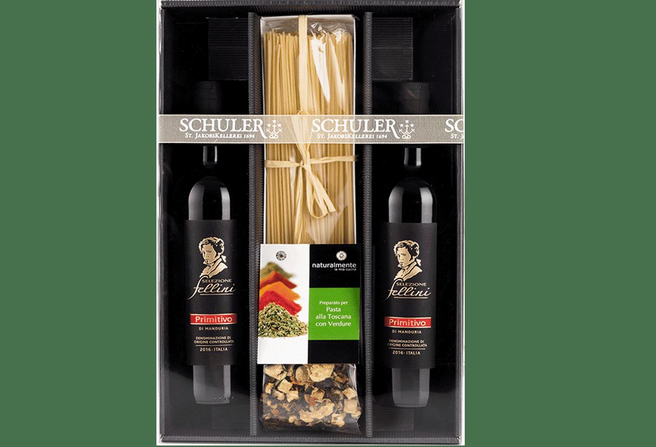Geschenkpaket Spaghettiplausch Apulien