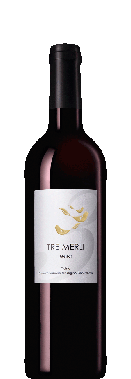 Tre Merli Merlot DOC 2015